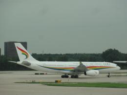 Rsaさんが、北京首都国際空港で撮影したチベット航空 A330-243の航空フォト(飛行機 写真・画像)