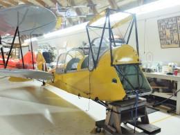 Smyth Newmanさんが、カナディアンミュージアムオブフライトで撮影したカナダ企業所有 DH.82C Tiger Mothの航空フォト(飛行機 写真・画像)