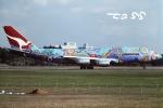 tassさんが、成田国際空港で撮影したカンタス航空 747-338の航空フォト(飛行機 写真・画像)