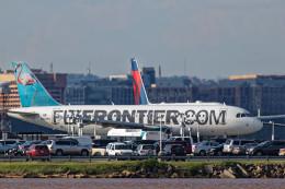 Airliners Freakさんが、ロナルド・レーガン・ワシントン・ナショナル空港で撮影したフロンティア航空 A320-214の航空フォト(飛行機 写真・画像)