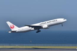 ポン太さんが、羽田空港で撮影した日本航空 777-289の航空フォト(飛行機 写真・画像)