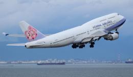 ☆ゆっきー☆さんが、中部国際空港で撮影したチャイナエアライン 747-409の航空フォト(飛行機 写真・画像)