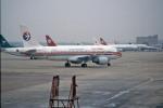 apphgさんが、上海虹橋国際空港で撮影した中国東方航空 A320-214の航空フォト(飛行機 写真・画像)