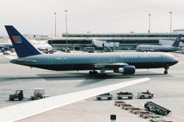 kinsanさんが、サンフランシスコ国際空港で撮影したユナイテッド航空 767-322/ERの航空フォト(飛行機 写真・画像)