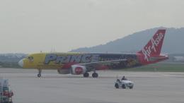 AE31Xさんが、ペナン国際空港で撮影したエアアジア A320-216の航空フォト(飛行機 写真・画像)