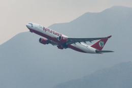 オポッサムさんが、香港国際空港で撮影したキングフィッシャー航空 A330-223の航空フォト(飛行機 写真・画像)