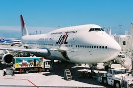 kinsanさんが、那覇空港で撮影した日本航空 747-146B/SR/SUDの航空フォト(飛行機 写真・画像)