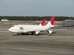 sunrise21さんが、成田国際空港で撮影した日本航空 747-446の航空フォト(飛行機 写真・画像)