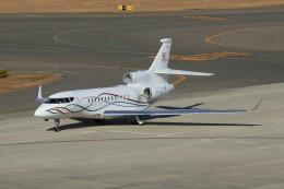 メンチカツさんが、中部国際空港で撮影したプライベートエア Falcon 7Xの航空フォト(飛行機 写真・画像)