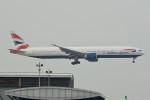 kuro2059さんが、香港国際空港で撮影したブリティッシュ・エアウェイズ 777-336/ERの航空フォト(飛行機 写真・画像)