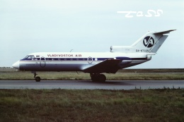 tassさんが、新潟空港で撮影したウラジオストク航空 Yak-40の航空フォト(飛行機 写真・画像)