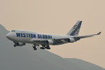 kuro2059さんが、香港国際空港で撮影したウエスタン・グローバル・エアラインズ 747-446(BCF)の航空フォト(飛行機 写真・画像)