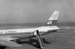 パンダさんが、羽田空港で撮影した日本航空 DC-8-33の航空フォト(飛行機 写真・画像)