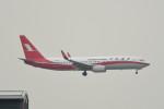 kuro2059さんが、香港国際空港で撮影した上海航空 737-89Pの航空フォト(飛行機 写真・画像)