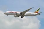 OMAさんが、シンガポール・チャンギ国際空港で撮影したエチオピア航空 787-8 Dreamlinerの航空フォト(飛行機 写真・画像)