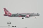 kuro2059さんが、香港国際空港で撮影したエアアジア A320-216の航空フォト(飛行機 写真・画像)
