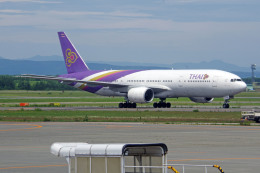 apphgさんが、新千歳空港で撮影したタイ国際航空 777-2D7の航空フォト(飛行機 写真・画像)