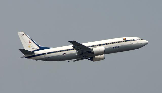 kekeさんが、ウタパオ国際空港で撮影したタイ王国空軍 737-448の航空フォト(飛行機 写真・画像)