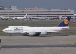 muneyan007さんが、羽田空港で撮影したルフトハンザドイツ航空 747-430の航空フォト(飛行機 写真・画像)