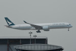 kuro2059さんが、香港国際空港で撮影したキャセイパシフィック航空 A350-1041の航空フォト(飛行機 写真・画像)