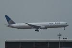 kuro2059さんが、香港国際空港で撮影したユナイテッド航空 767-424/ERの航空フォト(飛行機 写真・画像)