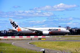 まいけるさんが、シドニー国際空港で撮影したジェットスター 787-8 Dreamlinerの航空フォト(飛行機 写真・画像)