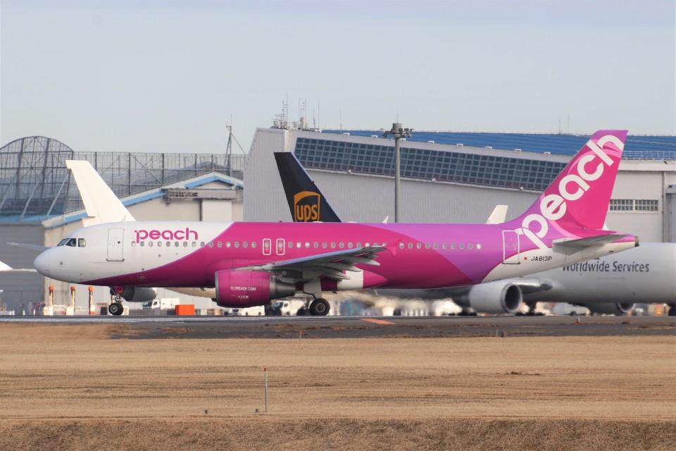 YASKYさんのピーチ Airbus A320 (JA813P) 航空フォト