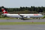 TRAVAIRさんが、成田国際空港で撮影したスイスインターナショナルエアラインズ A340-313Xの航空フォト(飛行機 写真・画像)