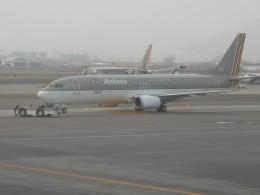 しかばねさんが、大邱国際空港で撮影したアシアナ航空 737-4Y0の航空フォト(飛行機 写真・画像)