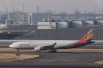 KAZFLYERさんが、羽田空港で撮影したアシアナ航空 A330-323Xの航空フォト(飛行機 写真・画像)