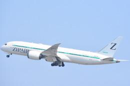 FLYING  HONU好きさんが、関西国際空港で撮影したZIPAIR 787-8 Dreamlinerの航空フォト(飛行機 写真・画像)