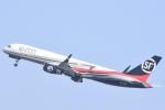 FLYING  HONU好きさんが、関西国際空港で撮影したSF エアラインズ 757-2B7(PCF)の航空フォト(飛行機 写真・画像)