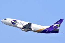 FLYING  HONU好きさんが、関西国際空港で撮影したYTOカーゴ・エアラインズ 737-31B(SF)の航空フォト(飛行機 写真・画像)