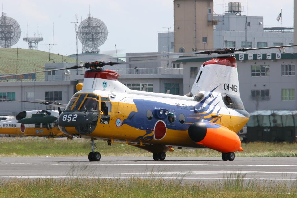 F-4さんの航空自衛隊 Kawasaki V-107 (04-4852) 航空フォト