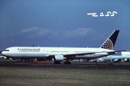 tassさんが、成田国際空港で撮影したコンチネンタル航空 767-424/ERの航空フォト(飛行機 写真・画像)