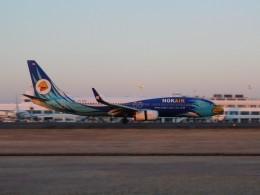 オンくんさんが、鹿児島空港で撮影したノックエア 737-8FZの航空フォト(飛行機 写真・画像)