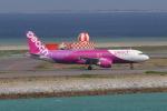 かみじょー。さんが、那覇空港で撮影したピーチ A320-214の航空フォト(飛行機 写真・画像)
