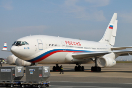 kumapapaさんが、羽田空港で撮影したロシア航空 Il-96-300の航空フォト(飛行機 写真・画像)