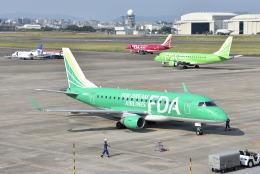 ワイエスさんが、名古屋飛行場で撮影したフジドリームエアラインズ ERJ-170-100 SU (ERJ-170SU)の航空フォト(飛行機 写真・画像)