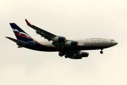 まいけるさんが、スワンナプーム国際空港で撮影したアエロフロート・ロシア航空 Il-96-300の航空フォト(飛行機 写真・画像)