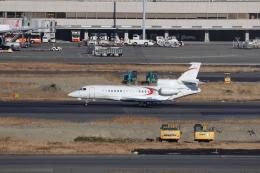 OS52さんが、羽田空港で撮影したTVPX AIRCRAFT SOLUTIONS INC TRUSTEE Falcon 8Xの航空フォト(飛行機 写真・画像)