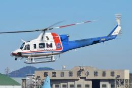 ブルーさんさんが、名古屋飛行場で撮影した愛知県防災航空隊 412EPの航空フォト(飛行機 写真・画像)