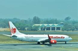 Hiro Satoさんが、ヤンゴン国際空港で撮影したマリンド・エア 737-8GPの航空フォト(飛行機 写真・画像)