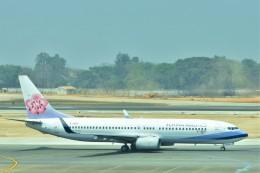 Hiro Satoさんが、ヤンゴン国際空港で撮影したチャイナエアライン 737-8ALの航空フォト(飛行機 写真・画像)