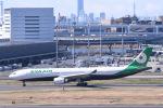 Jyunpei Ohyamaさんが、羽田空港で撮影したエバー航空 A330-302の航空フォト(飛行機 写真・画像)