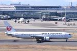Jyunpei Ohyamaさんが、羽田空港で撮影した日本航空 767-346の航空フォト(飛行機 写真・画像)