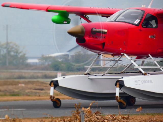 笠岡ふれあい空港 - Kasaoka Airstationで撮影された笠岡ふれあい空港 - Kasaoka Airstationの航空機写真(フォト・画像)