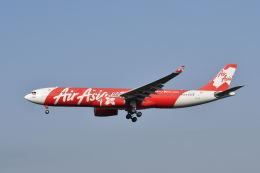 ポン太さんが、成田国際空港で撮影したインドネシア・エアアジア・エックス A330-343Xの航空フォト(飛行機 写真・画像)