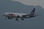 kuro2059さんが、香港国際空港で撮影したフェデックス・エクスプレス 777-FS2の航空フォト(飛行機 写真・画像)