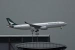 kuro2059さんが、香港国際空港で撮影したキャセイパシフィック航空 A330-343Xの航空フォト(飛行機 写真・画像)